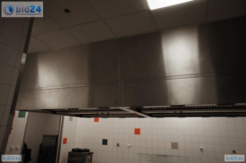 Bid24 Halton Range Ventilation Hood With Ansul Fire