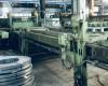 Wilhelmsburger Maschinenfabrik line for cross-cutting of sheet m