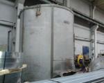 Bell furnace DEGUSSA for heat treatment of steel strips