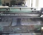 Guillotine for cutting sheet metal 2500 x 5mm