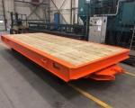 Industrial heavy duty trailer 6,5x2,5m 30t