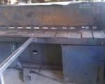 Guillotine for cutting sheet metal 2000 x 3mm