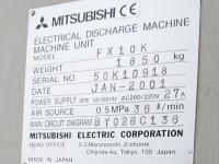 Elektrodrążarka drutowa Mitsubishi FX10K #7