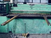 Guillotine shears for cutting sheet metal 2000 x 2.5 mm Strojarn #1