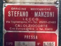 Eccentric press 40 t Italy + control cabinet #5