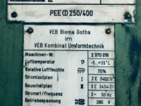 Eccentric press - ERFURT 250 tons #5