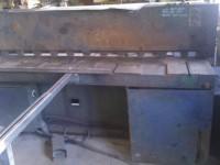 Guillotine for cutting sheet metal 2000 x 3mm #1