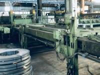 Wilhelmsburger Maschinenfabrik line for cross-cutting of sheet m #6