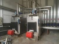 Steam boiler #1