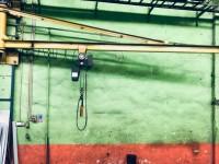 Wall crane + hoist 1 t #4