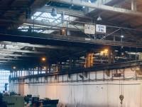 Techmet bridge crane with a lifting capacity of 3 tons x 17,000 #1