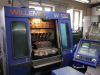 Vertical machining center Willemin Macodel W138 #1