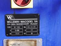 Vertical machining center Willemin Macodel W138 #6