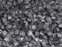 Regranulat LDPE szary metalizowany transparentny #1