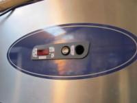 Used stainless steel double door freezer #3