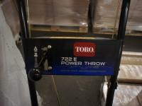 Toro 722E Power Throw 205cc Snow Blower (115-5) #6