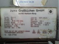Combi steamer Juno air-o-steam 5611-3 6 shelves 9kW (122-5) #7