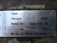 Busch vacuum pump 160m3/h (114-50) #5